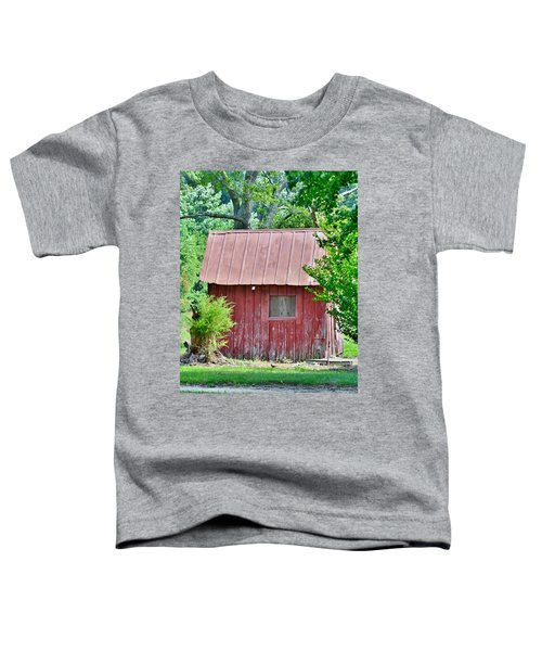 Small Red Barn - Lewes Delaware Toddler T-Shirt