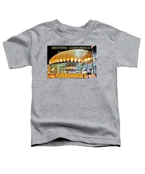 Smashville Western Conference Champions 2017 Toddler T-Shirt