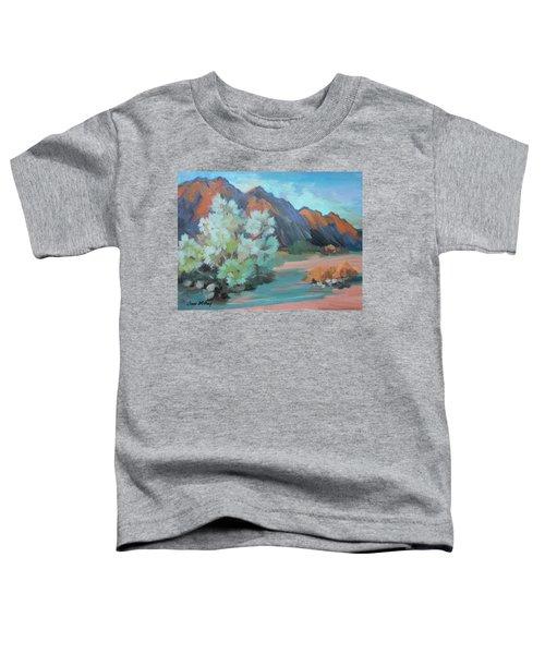 Smoke Tree At Box Canyon Toddler T-Shirt