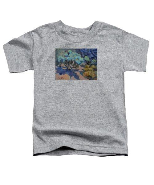 Smoke Tree In La Quinta Cove Toddler T-Shirt
