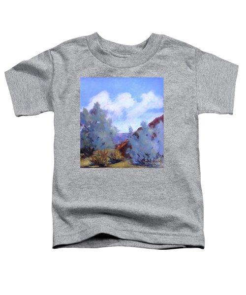 Smoke Trees In Bloom In Palm Desert Toddler T-Shirt