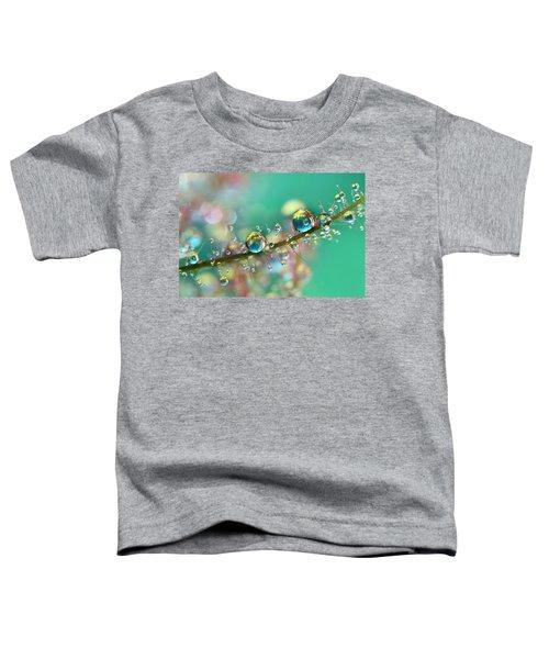 Smokey Rainbow Drops Toddler T-Shirt