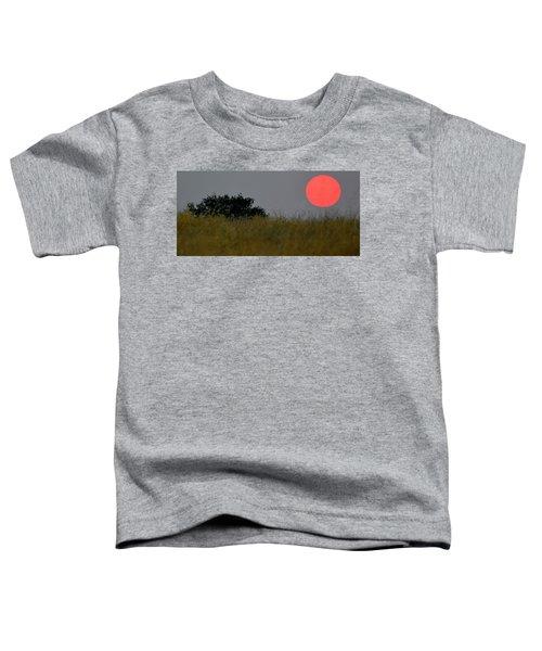 Smokey Sunset Toddler T-Shirt