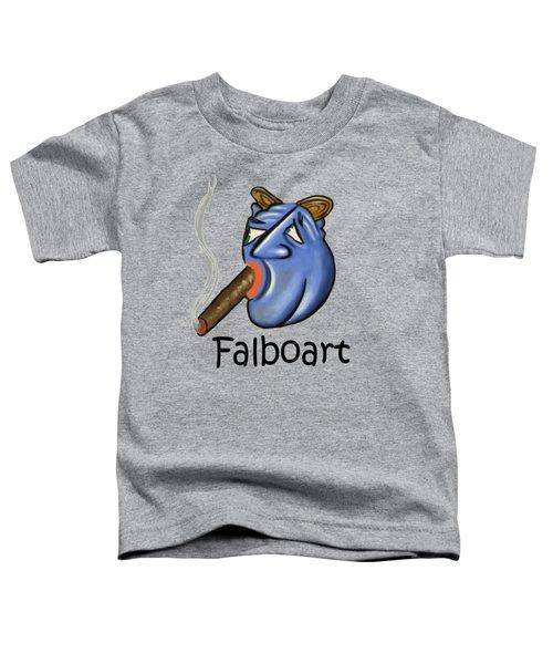Smoking Blue Man Toddler T-Shirt