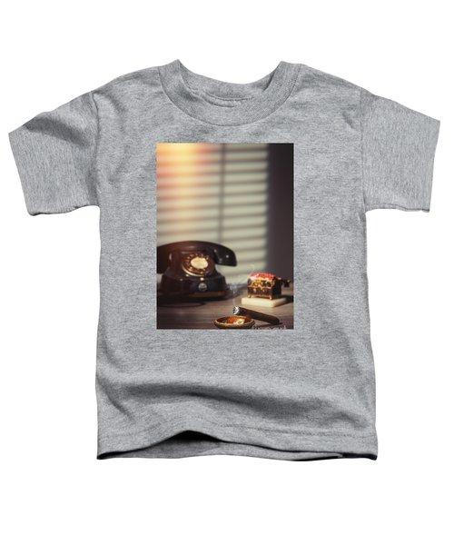 Smoking Cigar Toddler T-Shirt