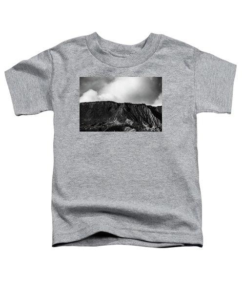 Smoking Volcano Toddler T-Shirt