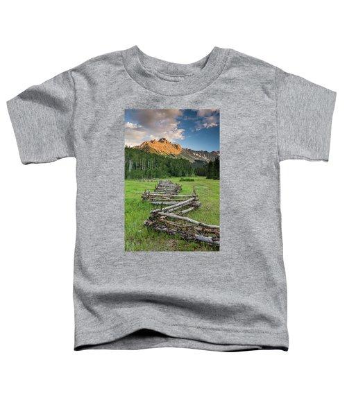 Sneffels Fence Vertical Toddler T-Shirt