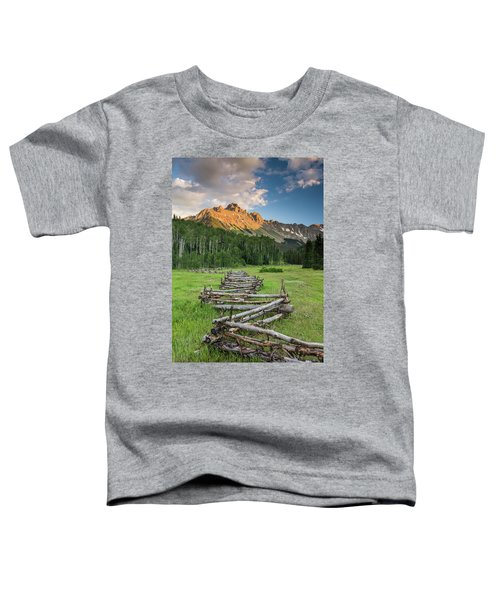 Sneffels Fence Vertical Toddler T-Shirt