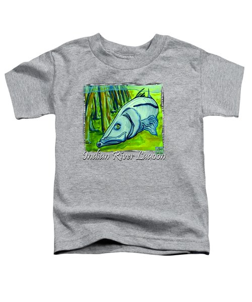 Snook Fish Toddler T-Shirt