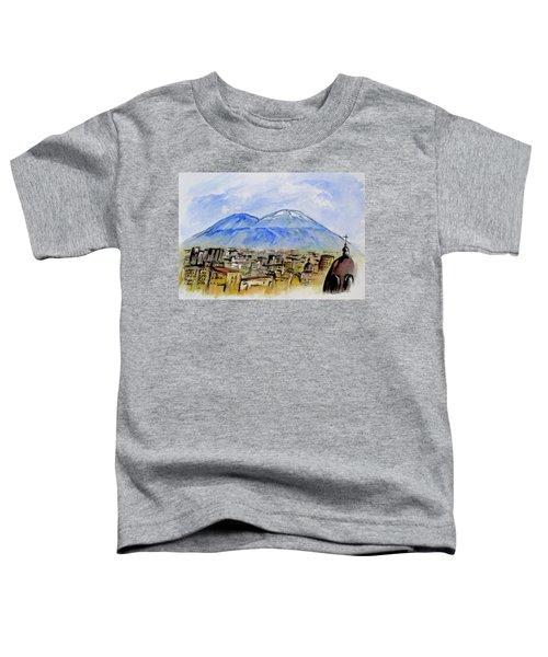 Snow Capped Vesuvio Toddler T-Shirt