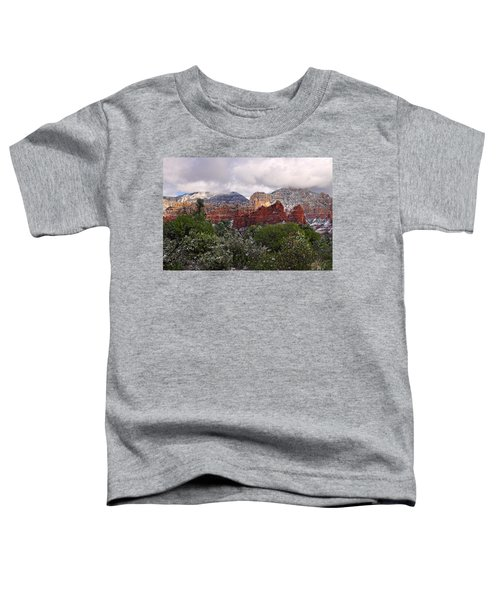 Snow In Heaven Toddler T-Shirt