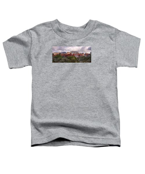 Snow In Heaven Panorama Toddler T-Shirt