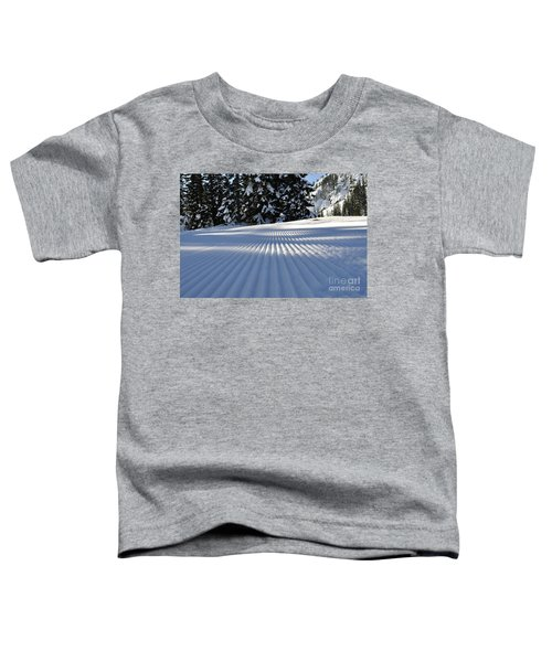 Snow Is Groovy Man Toddler T-Shirt