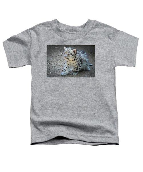Snow Leopard Cub Toddler T-Shirt