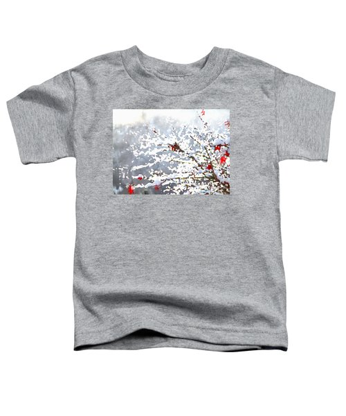 Snow On The Maple Toddler T-Shirt
