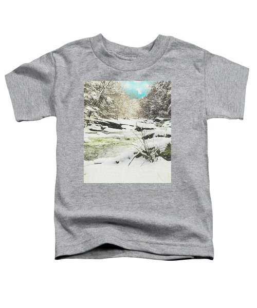 Snow On The Natchaug Toddler T-Shirt