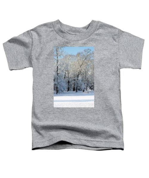 Snow Scene One Toddler T-Shirt