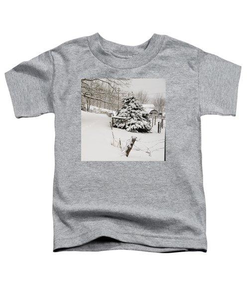 Snow Tree Toddler T-Shirt