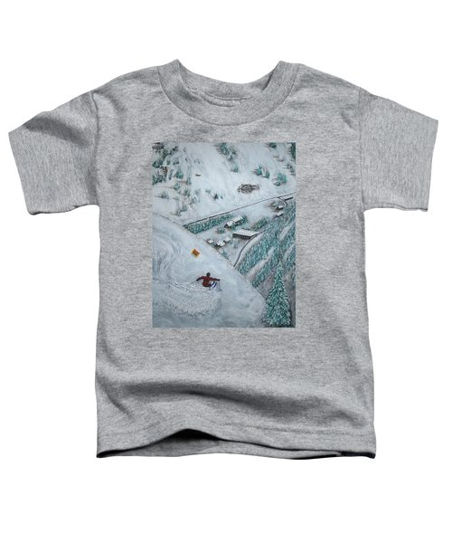 Snowbird Steeps Toddler T-Shirt