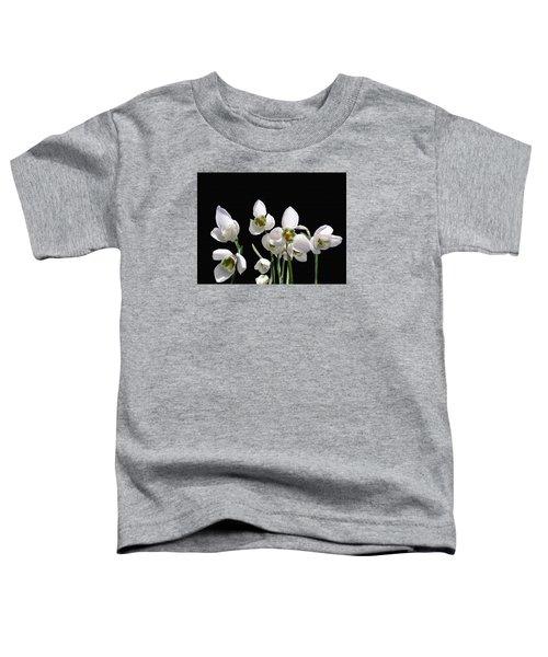 Snowdrop Flowers Toddler T-Shirt
