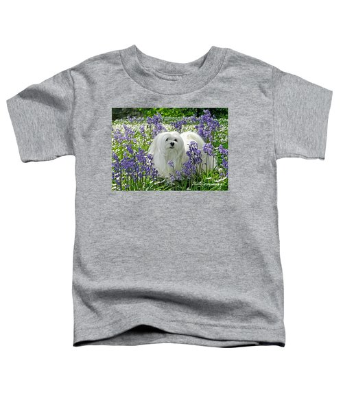 Snowdrop In The Bluebell Woods Toddler T-Shirt