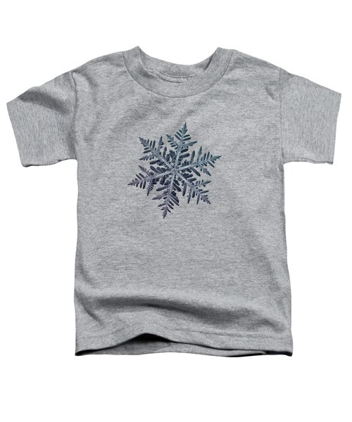 Snowflake Photo - Neon Toddler T-Shirt