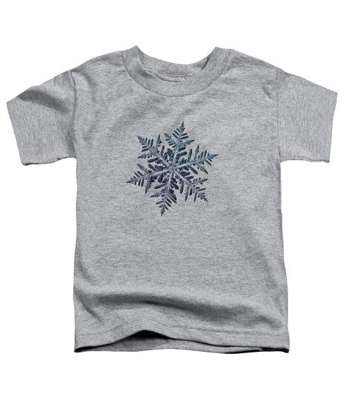 Snowflake Photo - Neon Toddler T-Shirt