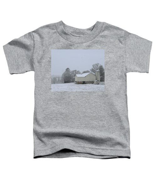 Winter White Farm Toddler T-Shirt
