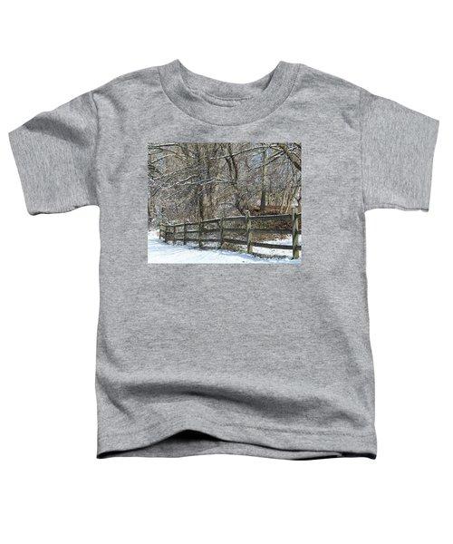Winter Fence Toddler T-Shirt