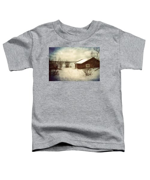 Snowy Landscape Toddler T-Shirt