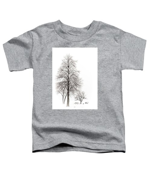 Snowy Trees Toddler T-Shirt