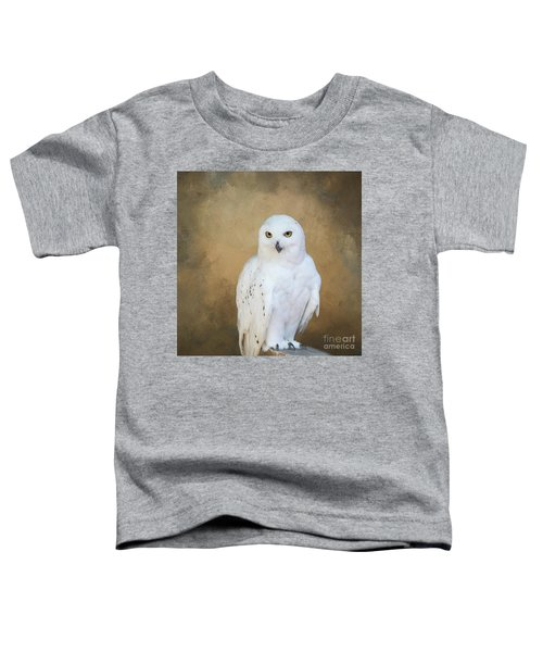 Snowy White Toddler T-Shirt