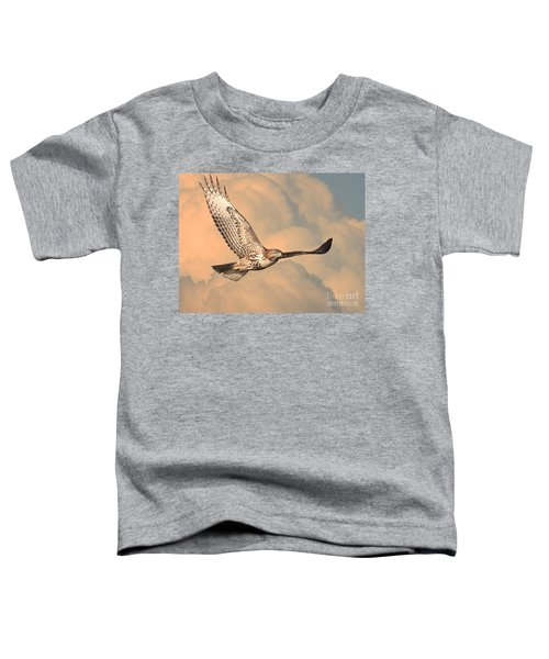 Soaring Hawk Toddler T-Shirt