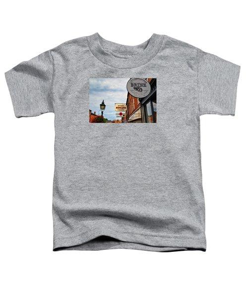 Soda Cigars And Brine Toddler T-Shirt