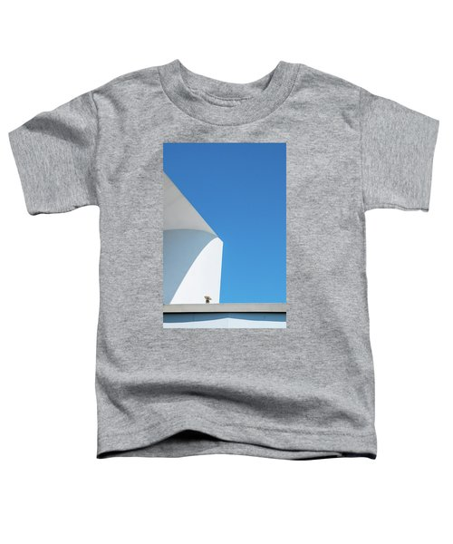 Toddler T-Shirt featuring the photograph Soft Blue by Eric Lake