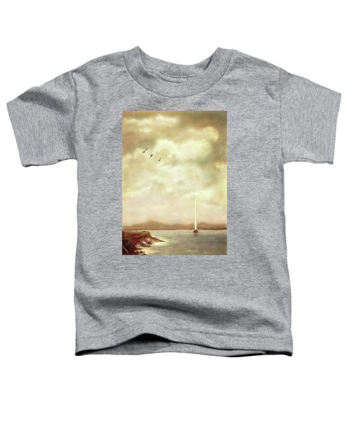 Solitary Sailor Toddler T-Shirt