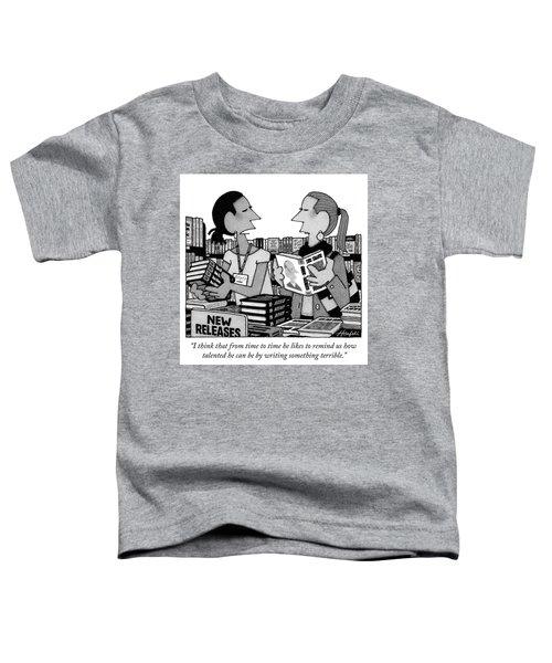 Something Terrible Toddler T-Shirt