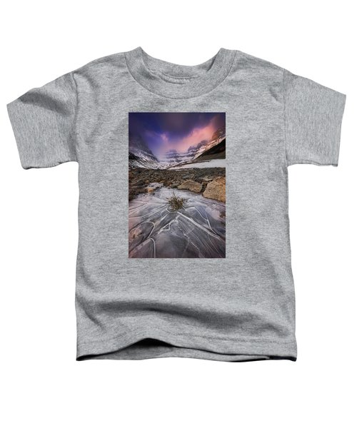 Somewhere In The Canadian Rockies Toddler T-Shirt