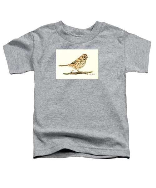Song Sparrow Toddler T-Shirt