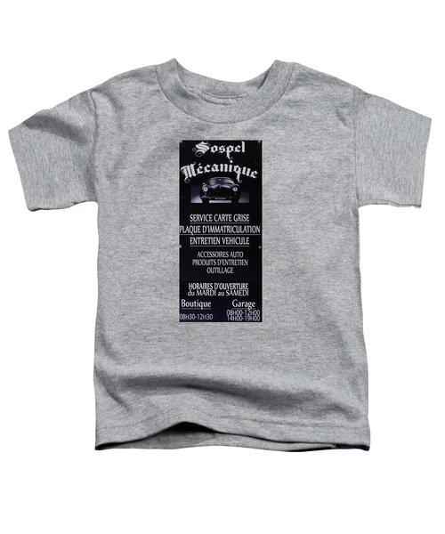 Sospel Mechanic Toddler T-Shirt