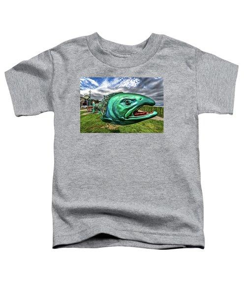 Soul Salmon In Hdr Toddler T-Shirt