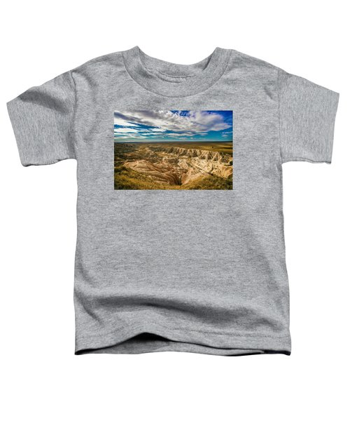 South Dakota Bad Lands.... Toddler T-Shirt