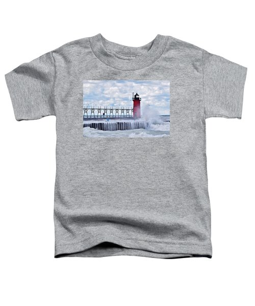 South Haven Lighthouse Toddler T-Shirt