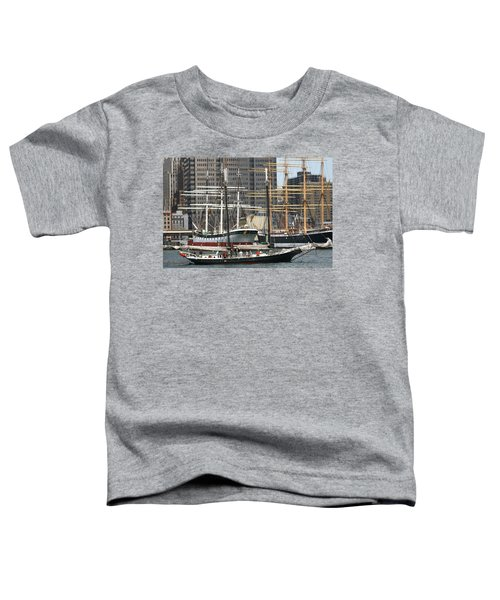 South Street Seaport Pioneer Toddler T-Shirt