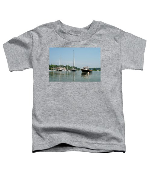 Southport Harbor Yachts Toddler T-Shirt