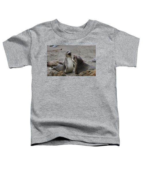 Sparring Seals  Toddler T-Shirt
