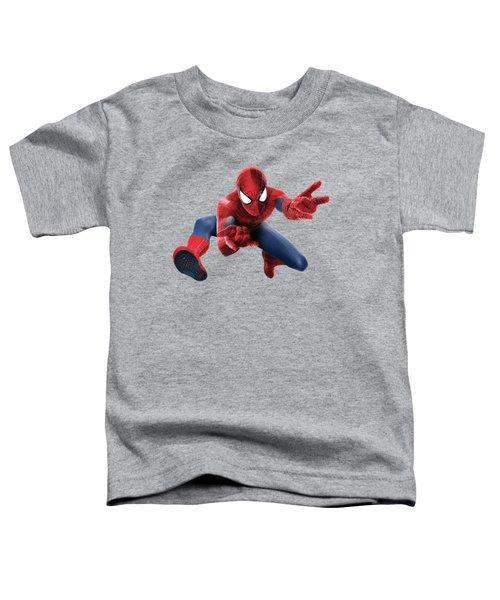 Spider Man Splash Super Hero Series Toddler T-Shirt