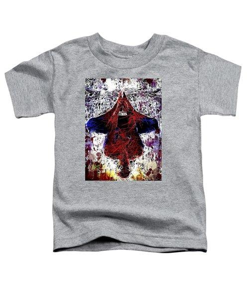 Spiderman Hanging Around Toddler T-Shirt