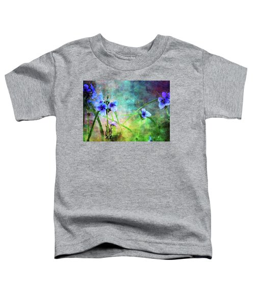 Spiderwort Dance 0115 Idp_2 Toddler T-Shirt