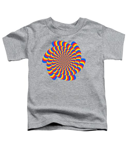 Spiral Primary Colors Toddler T-Shirt